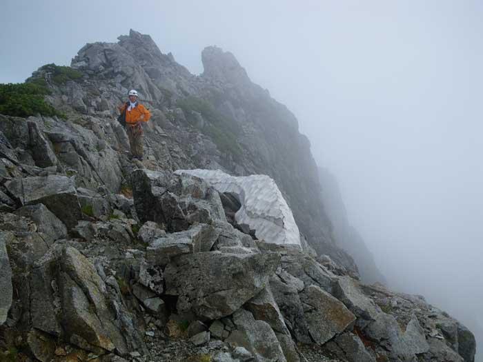梅雨のすきまを狙って剣岳へ。_e0189446_2031067.jpg
