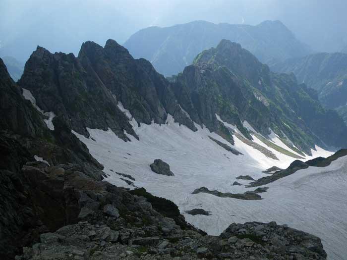 梅雨のすきまを狙って剣岳へ。_e0189446_2044815.jpg