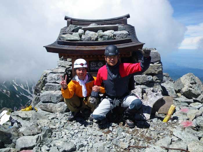梅雨のすきまを狙って剣岳へ。_e0189446_2055046.jpg