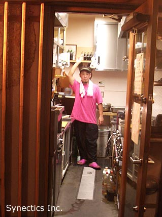 090807 建築の街 千駄ヶ谷で神宮花火観賞_f0202414_14304195.jpg