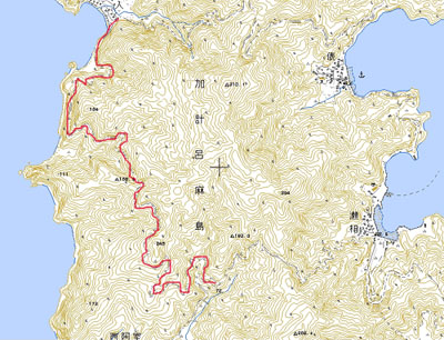 林道「西阿室・嘉入線」路肩伐採中!!!_e0028387_1144155.jpg