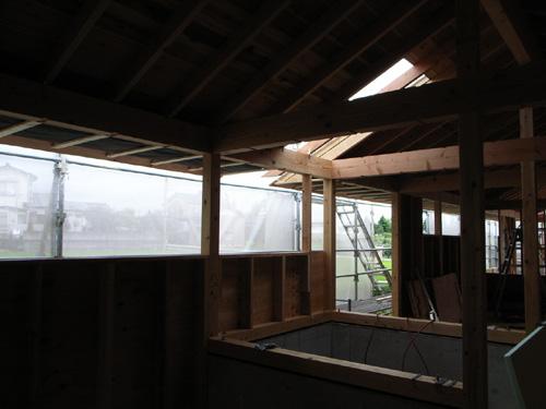 屋根がはられた_e0189939_165159.jpg