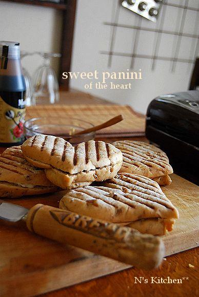 《ドライクランベリー》berryのSweet panini レシピコンテスト_a0105872_994281.jpg