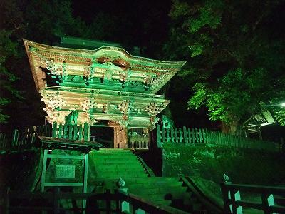 山門ライトアップ (梵鐘の会暑気払い) _b0092684_10283945.jpg
