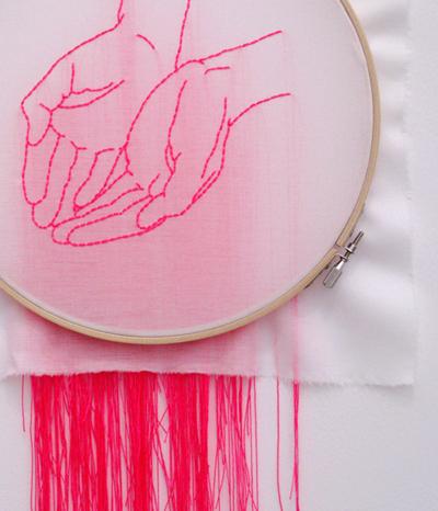 『ステッチ・バイ・ステッチ 針と糸で描くわたし』展イメージ