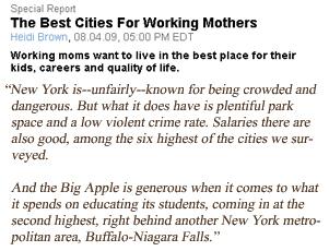 米国で働く母親に最適な都市はニューヨーク_b0007805_22293319.jpg