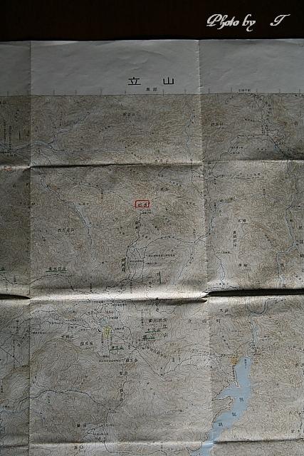 古い地図と剣岳_f0037633_1782666.jpg