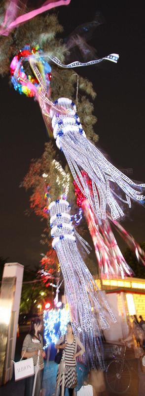 上福岡七夕祭り             2009年その1_a0107574_21335238.jpg
