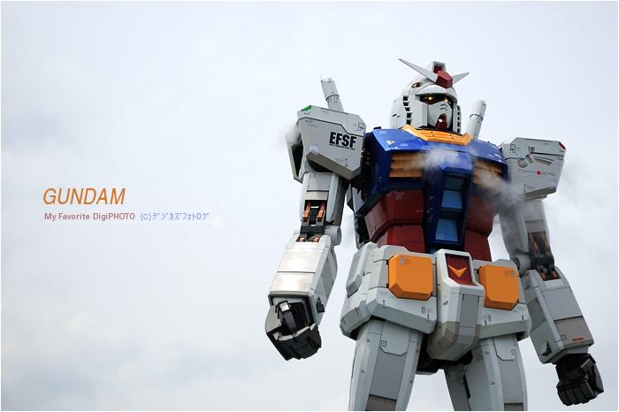 GUNDAM /GREEN TOKYOガンダムプロジェクト_f0073776_18551288.jpg