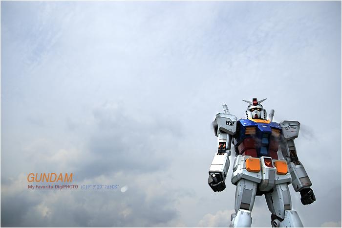 GUNDAM /GREEN TOKYOガンダムプロジェクト_f0073776_191332.jpg