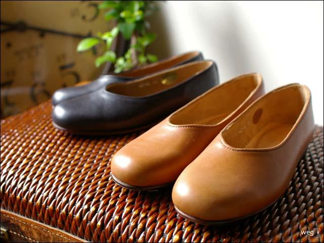 weg [ウェグ] hare shoes [レザーパンプス] _f0051306_1456061.jpg