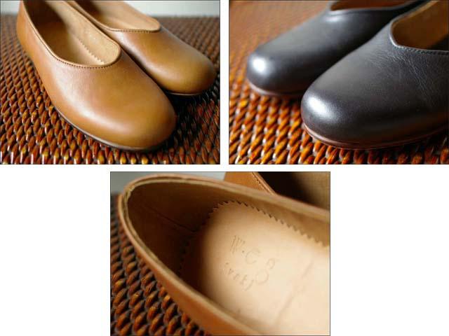 weg [ウェグ] hare shoes [レザーパンプス] _f0051306_14561984.jpg