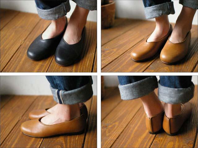 weg [ウェグ] hare shoes [レザーパンプス] _f0051306_1456726.jpg