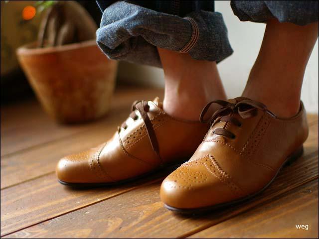 weg [ウェグ] wing tip shoes [ウイングチップシューズ] _f0051306_14575514.jpg