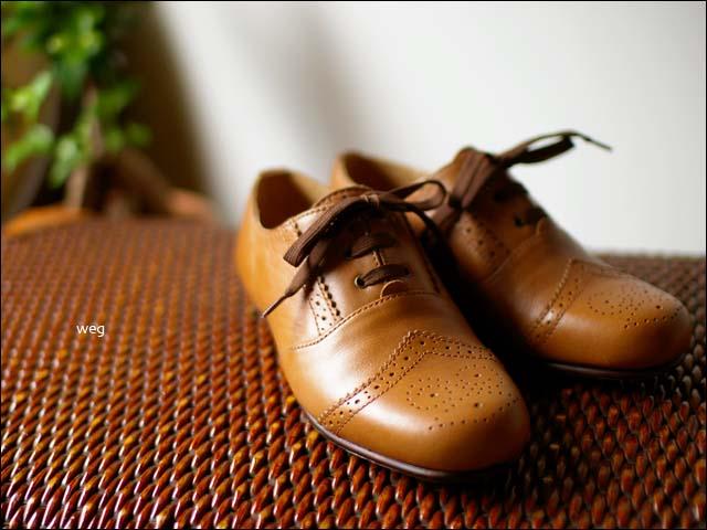 weg [ウェグ] wing tip shoes [ウイングチップシューズ] _f0051306_1458153.jpg