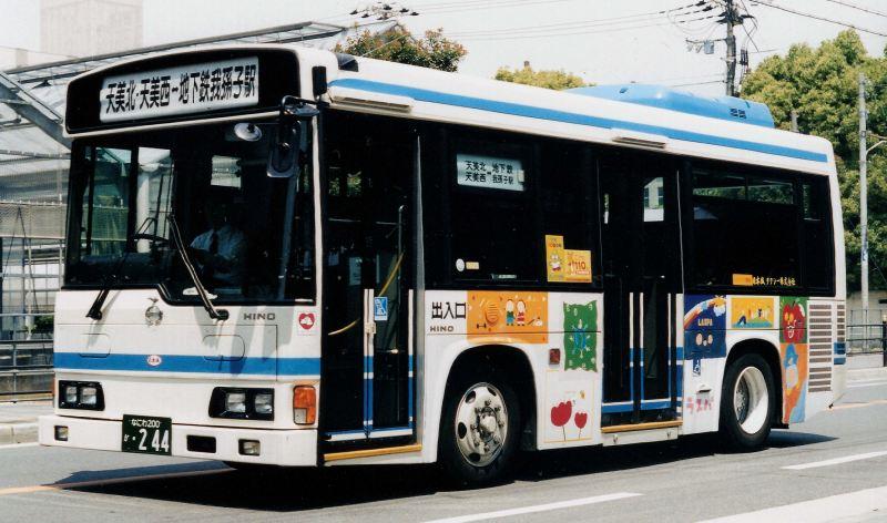 日本城タクシーの路線バス : バ...