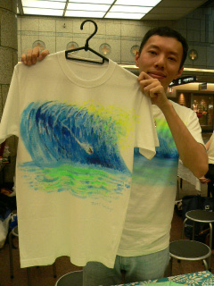 世界で1枚だけのTシャツ_e0163296_16443081.jpg