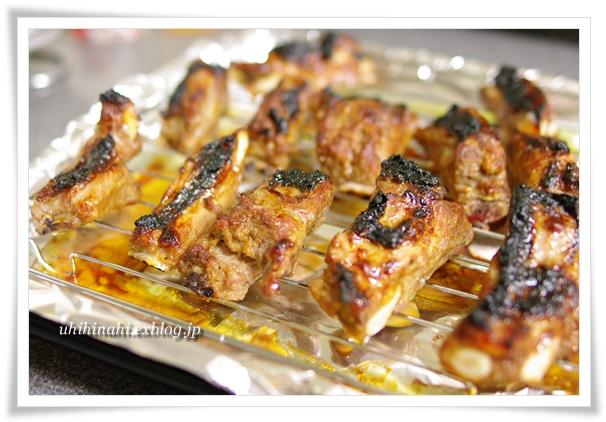 オクラとくずし豆腐の胡麻しそナムル と スペアリブ_f0179404_21114851.jpg