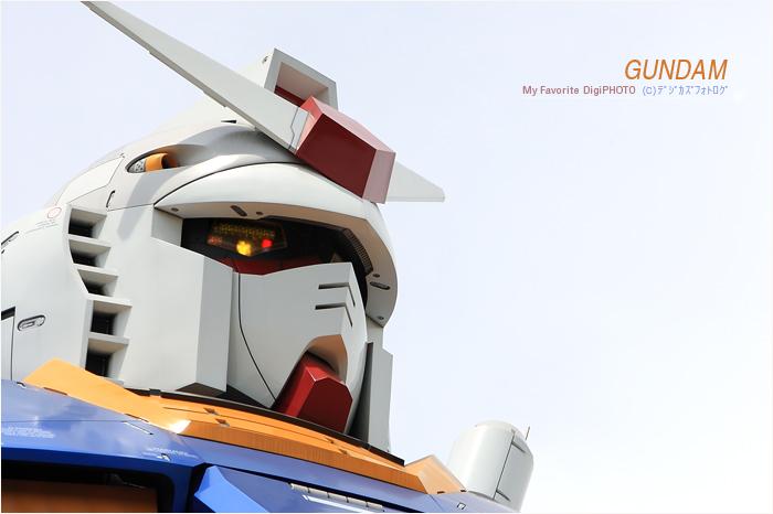 GUNDAM /GREEN TOKYOガンダムプロジェクト_f0073776_2392390.jpg