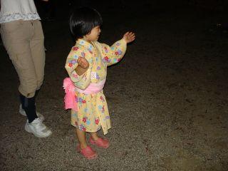 盆踊りしてる?マコちゃん!_e0166301_18352083.jpg