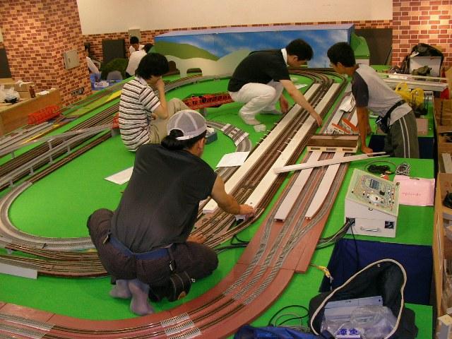阪急百貨店 鉄道フェスティバル開始_a0066027_0263433.jpg
