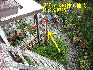 屋根塗装・ラティス塗装・玄関ドア塗装_f0031037_21102818.jpg