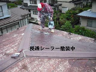 屋根塗装・ラティス塗装・玄関ドア塗装_f0031037_2113552.jpg