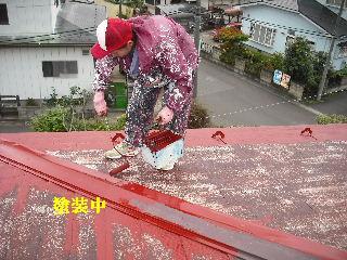 屋根塗装・ラティス塗装・玄関ドア塗装_f0031037_21141275.jpg