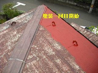 屋根塗装・ラティス塗装・玄関ドア塗装_f0031037_21215640.jpg
