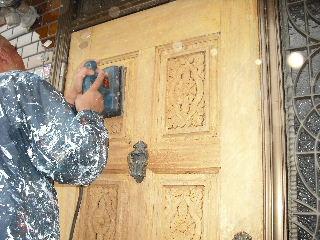 屋根塗装・ラティス塗装・玄関ドア塗装_f0031037_21234787.jpg