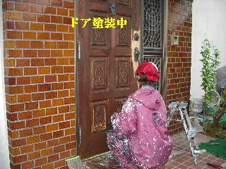 屋根塗装・ラティス塗装・玄関ドア塗装_f0031037_21241220.jpg