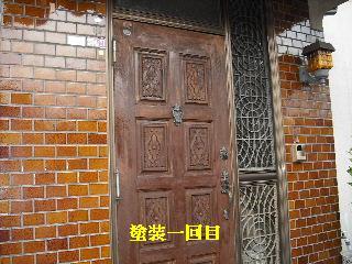 屋根塗装・ラティス塗装・玄関ドア塗装_f0031037_21242282.jpg