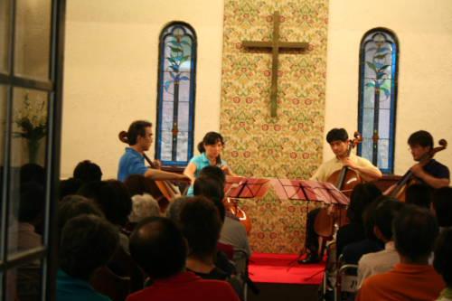和田野の森 教会コンサート_b0147051_21495521.jpg