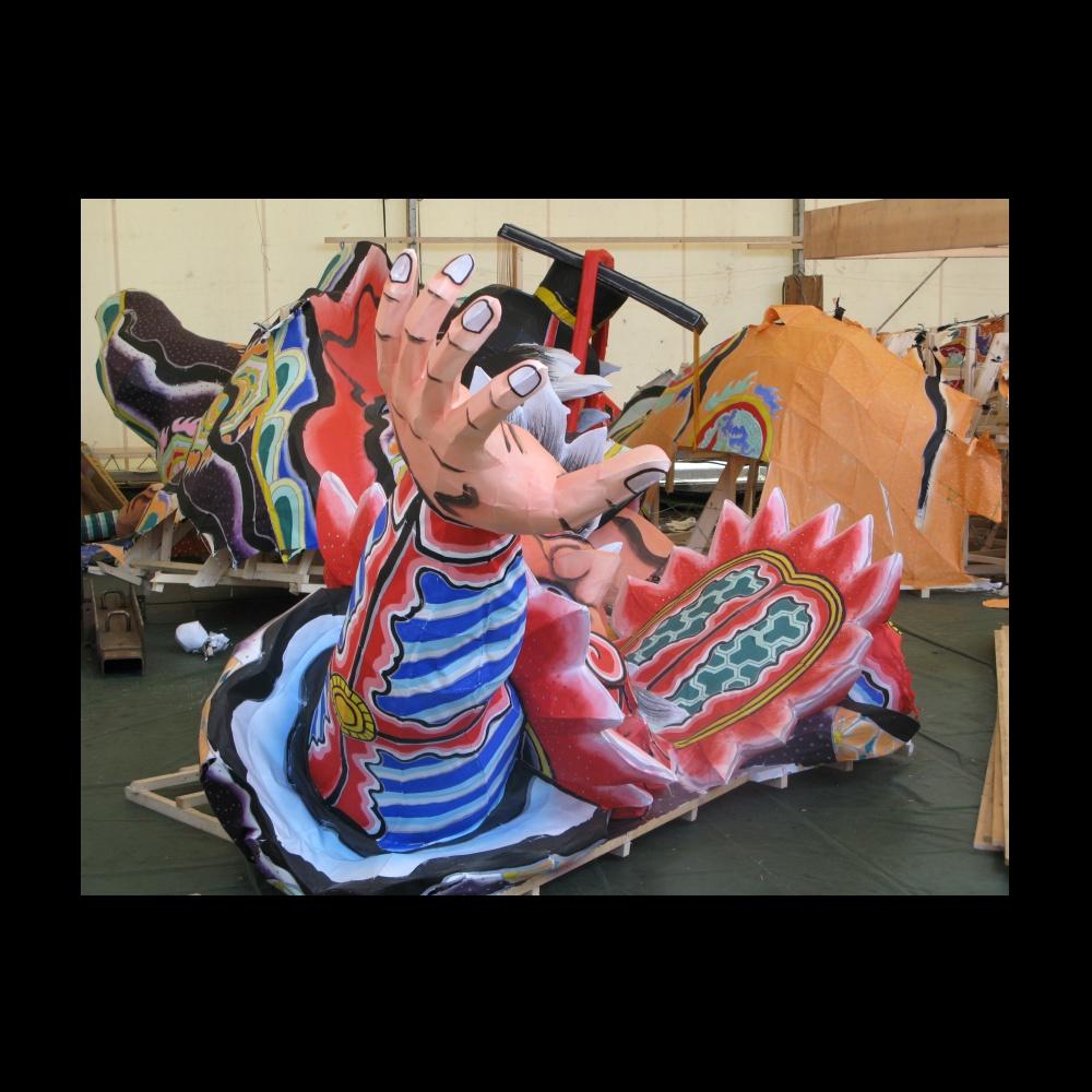 青森ねぶた祭が終了した翌日にラッセランドでは、もうねぶたの「解体」が行わ... TAKESHI'