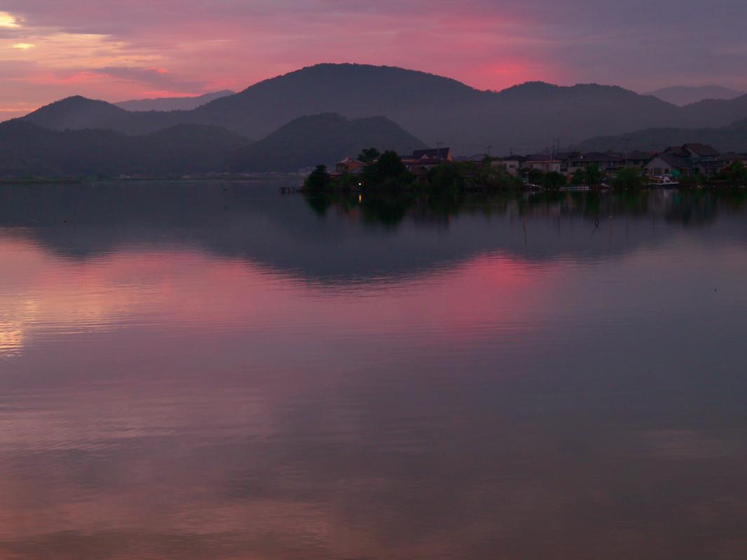 琵琶湖で オフ会 西湖  4_f0021869_2214321.jpg