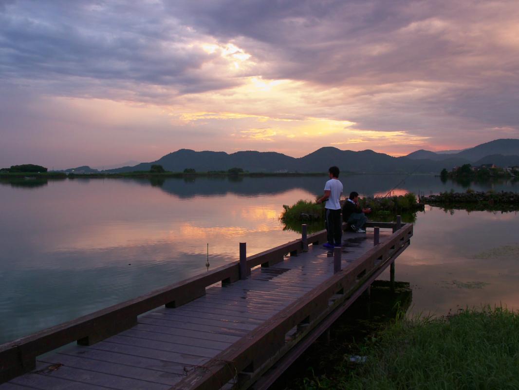 琵琶湖で オフ会 西湖  3_f0021869_2285523.jpg