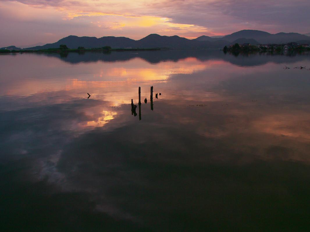 琵琶湖で オフ会 西湖  3_f0021869_2293490.jpg