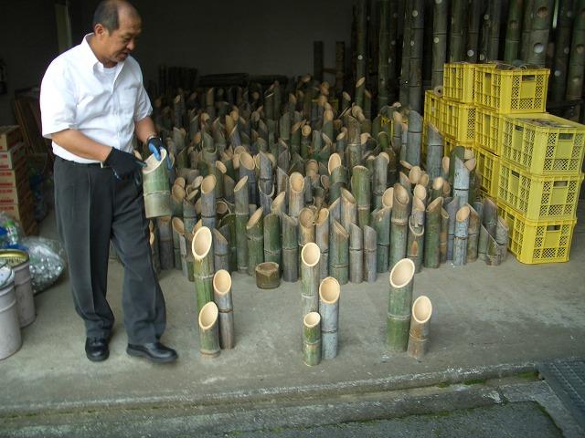 今泉での「竹あかり」開催に向けて_f0141310_23192923.jpg