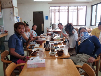 8月13日  夕食風景☆_b0158746_19482997.jpg