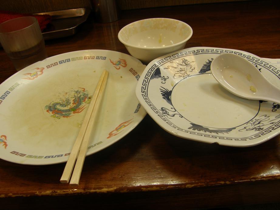 中華食堂 十八番    天五_c0118393_13485887.jpg