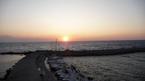 毎年恒例、ガッリーポリの夕陽_f0106597_22543246.jpg