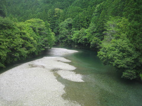 【カヤック日記】北山川にてフィッシング!_c0113733_138322.jpg
