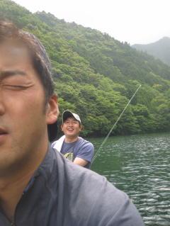 【カヤック日記】北山川にてフィッシング!_c0113733_1391138.jpg