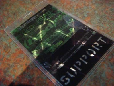 HED to HEAD TOUR 2009: ツアー初日_b0144406_5242667.jpg