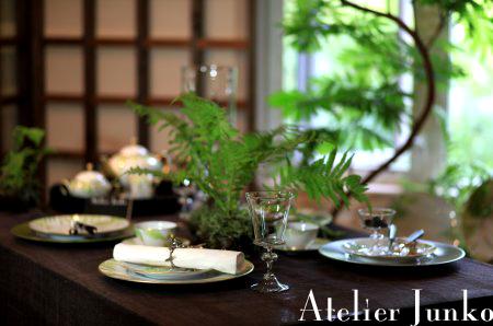 白馬Atelier Junko テーブルコーディネート展(2)_c0181749_1031956.jpg