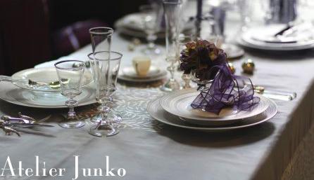 白馬Atelier Junko テーブルコーディネート展(2)_c0181749_103468.jpg