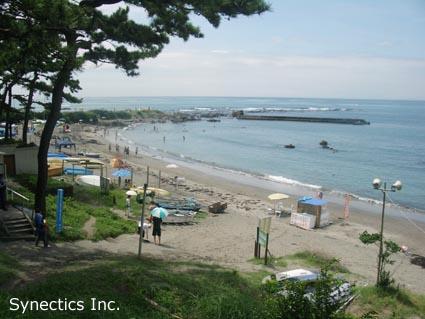 090817 お盆の湘南海水浴&建築散歩−1_f0202414_15403570.jpg