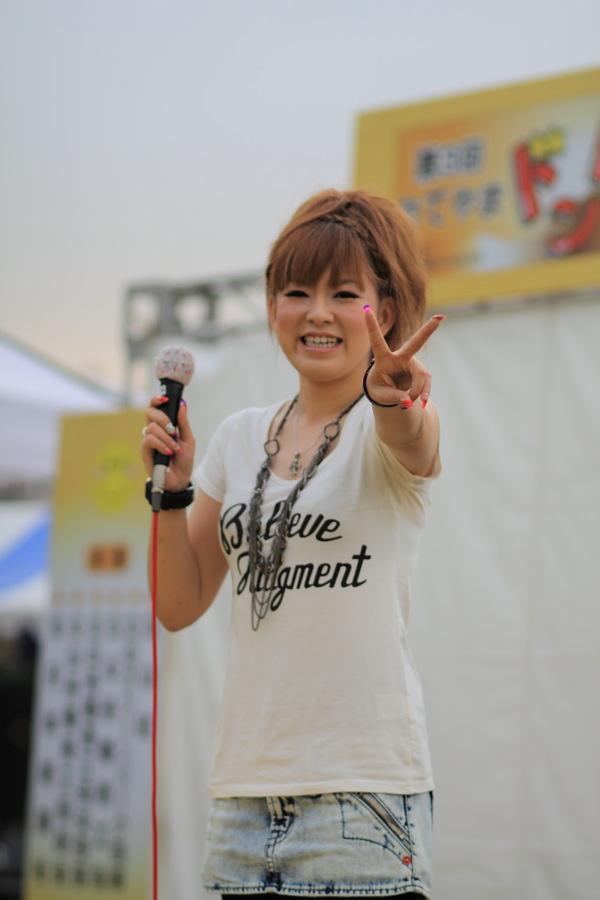 「たてやまドンドン祭りin吉峰」林道美有紀さん編_b0157849_3574512.jpg