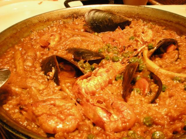 バルセロナ----お食事編--- LA  FONDA_c0179785_23162897.jpg