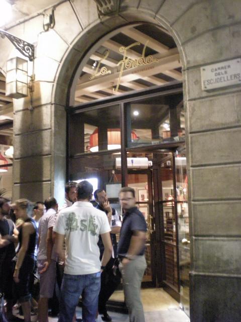 バルセロナ----お食事編--- LA  FONDA_c0179785_23211743.jpg